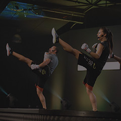 Les Mills BODYCOMBAT fitness workout