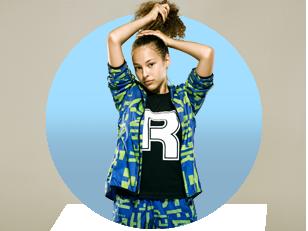 Girl Wearing Reebok Gear