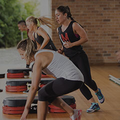 Les Mills GRIT fitness class