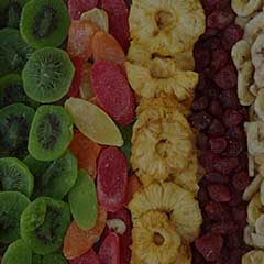 Dried fruit in a healthy diet