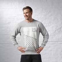 Les Mills™ Crew Pullover by Reebok