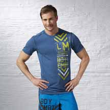 LES MILLS BODYCOMBAT™ Tee by Reebok