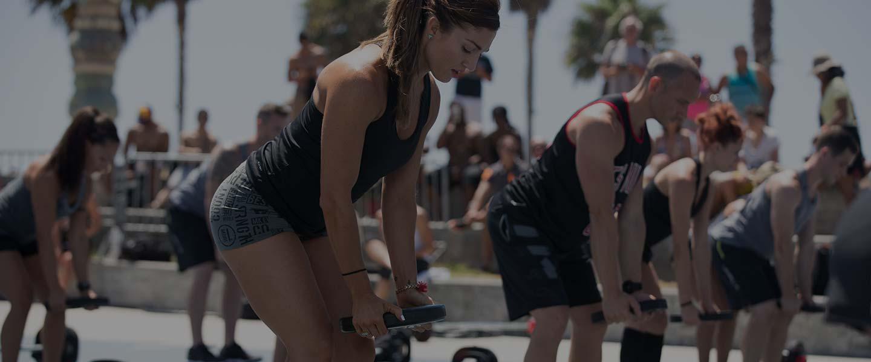 LES MILLS GRIT Strength on Venice Beach