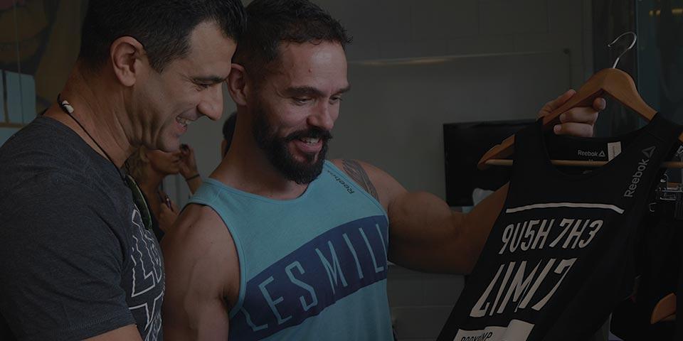 Les Mills fitness instructors