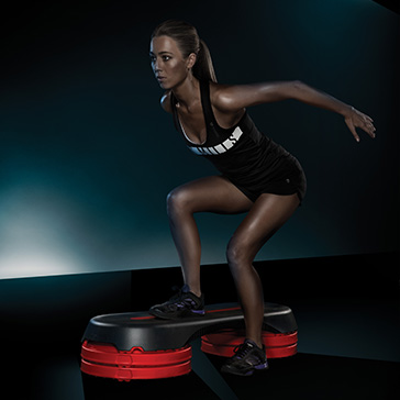 Les Mills Smart Step fitness equipment
