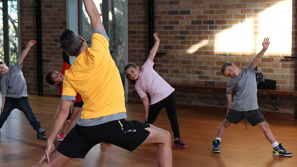 BORN TO MOVE™ teacher  6-7 year olds