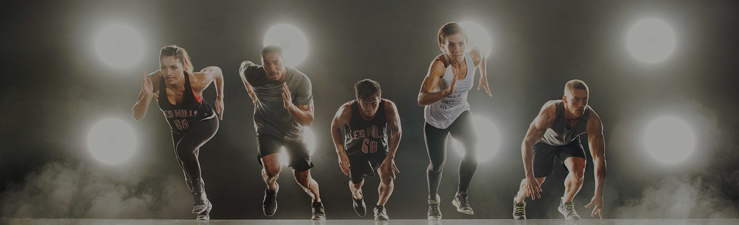 Les Mills GRIT Cardio Class group fitness