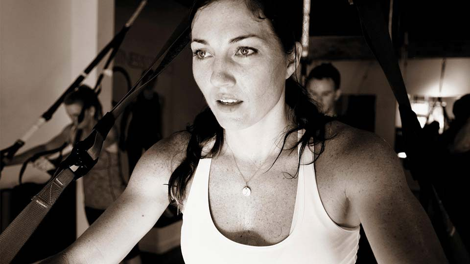 Les Mills instructor Lissa Bankston close up