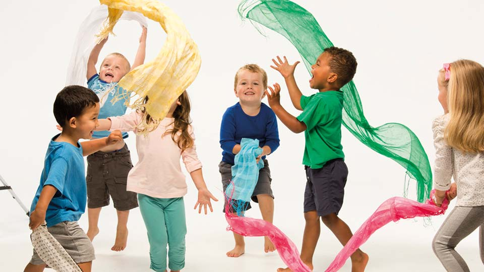 Les Mills - BORN TO MOVE™ - 4 - 5 year olds