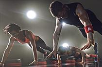 Les Mills GRIT™  Reebok fitness class