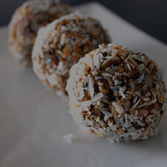 Diana Mills bliss balls recipe