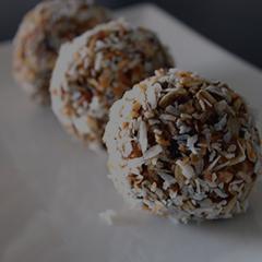 Diana Mills bliss balls recipe