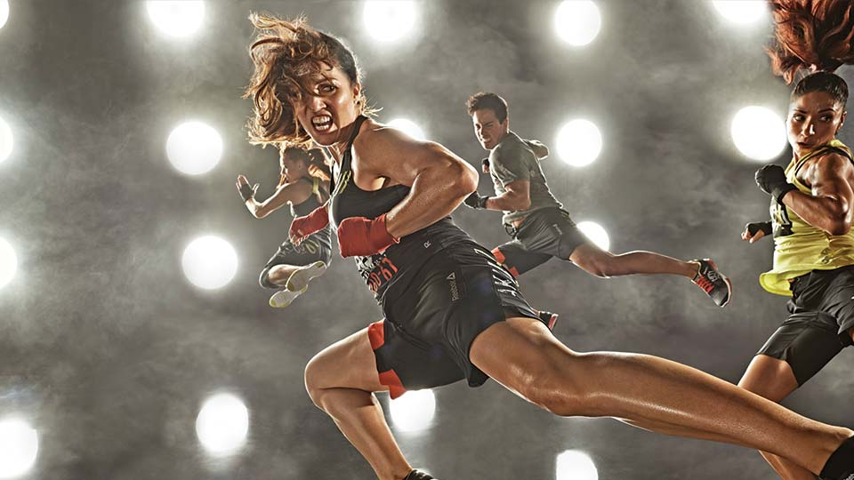Lissa Bankston BODYCOMBAT™ kick