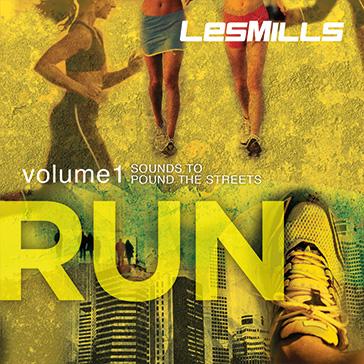 Les Mills Run album artwork