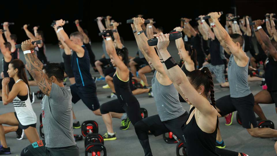 LES MILLS GRIT™ Strength 12 filming