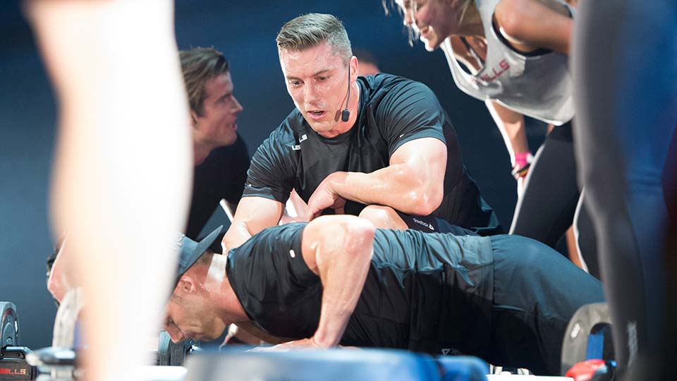 BODYPUMP™ Instructor Petter Ehrnvall