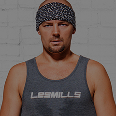 Les Mills BODYJAM™ Program Director Gandalf Archer