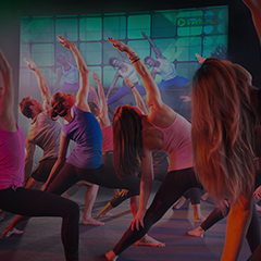 Les Mills Virtual BODYBALANCE group fitness class