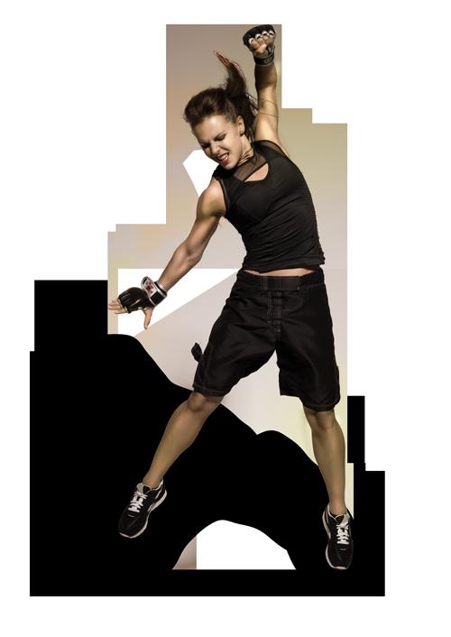 Woman doing a BODYPUMP Workout