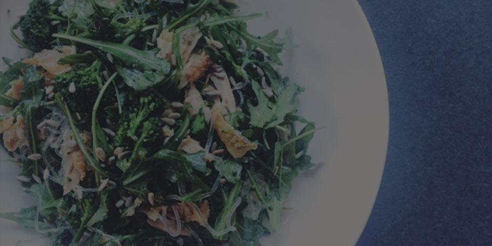 rocket broccoli salad