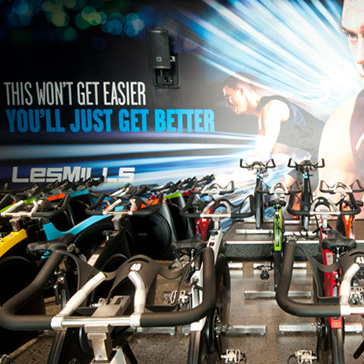 Les Mills RPM™ Studio fitness workout