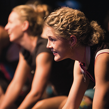 Girls participating in a RPM™ class