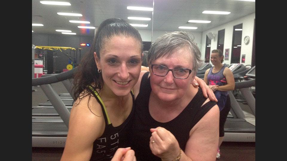 Les Mills Fit Hero Jane Mallard with Debra Gilbert
