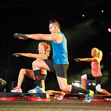 Les Mills instructor Mark Nuu BODYSTEP™