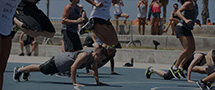 LES MILLS GRIT Plyo on Venice Beach