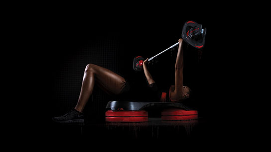 Les Mills SMARTBAR™ and SMARTSTEP™