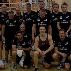 Emirates Team NZ do Les Mills GRIT