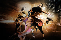 Les Mills Bodyjam fitness workout