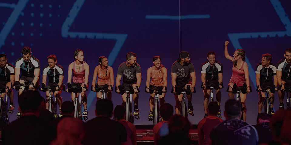 RPM instructors on stage