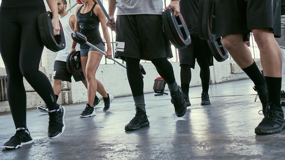fitness workout class