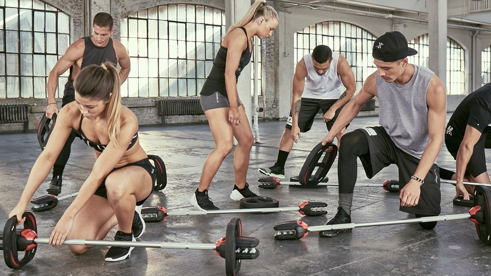 Barbell Les Mills SmartBar workout class