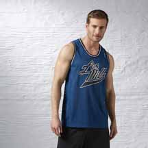 Les Mills Basketball Tank by Reebok