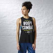 LES MILLS BODYCOMBAT™ Muscle Tank by Reebok