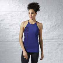 Les Mills Recycled Long Bra by Reebok