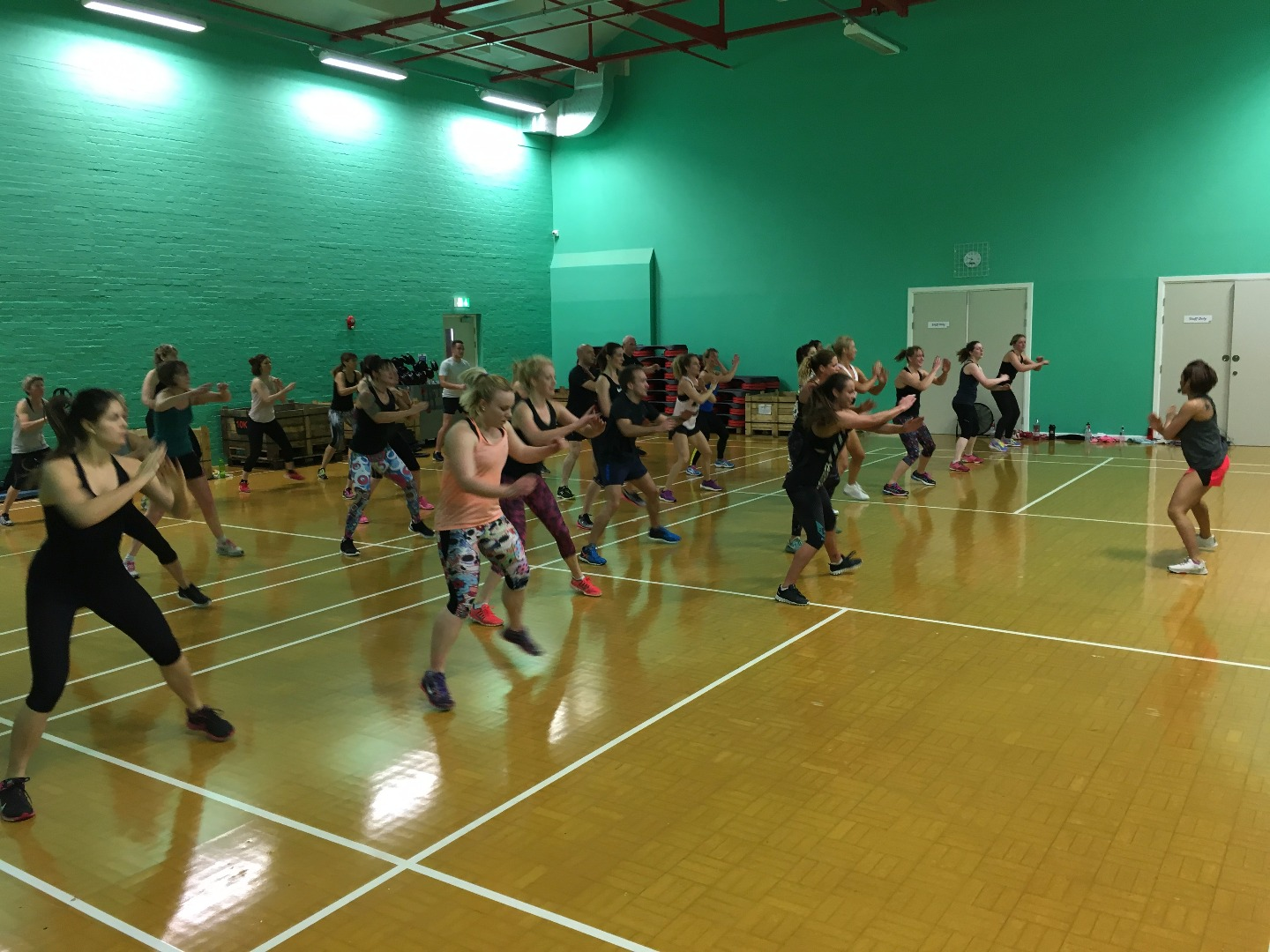Les Mills Experience BODYCOMBAT class