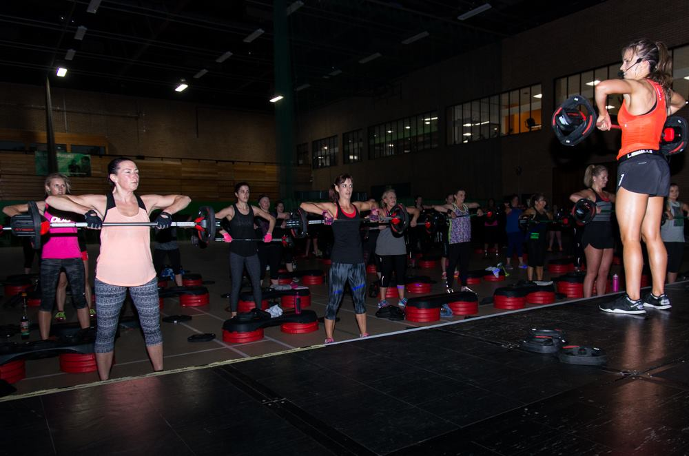 Les Mills Experience event