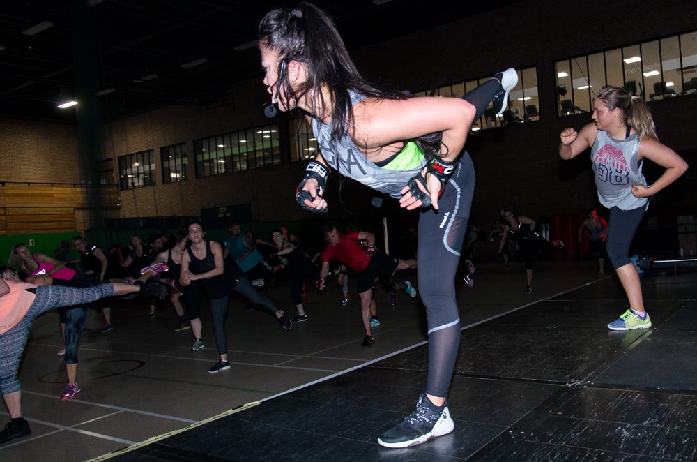 A Les Mills Experience event